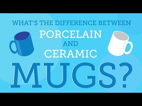 What's the Difference Between Porcelain and Ceramic Mugs?