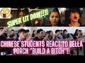 BUILD A BITCH REACTION VIDEO OF MY CHINESE STUDENTS/ BELLA POARCH- NAPA WOW SILA!!