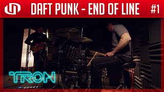 #1 Daft Punk - End of Line (Live Drum Cover & Guitar Cover)