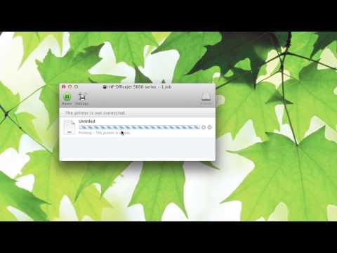 Canceling a Print Job on My Mac : Macs & Apple Computers