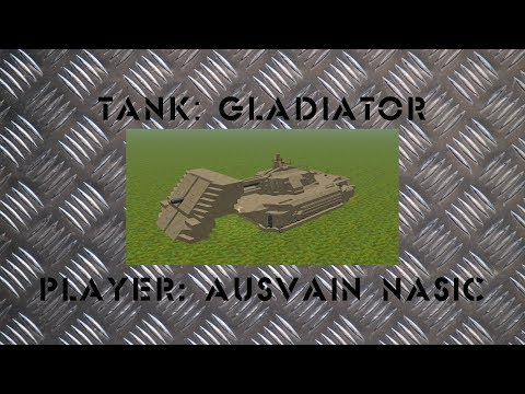 FTD Tank Tournament RU Обзор Ausvain Nasic - Gladiator