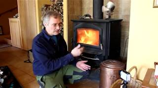 Bill's Wood Stove, Heating a Super Insulated House in Vermont Winters