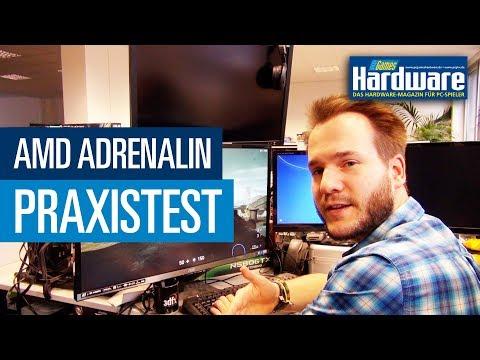 AMD Adrenalin - AMDs neue Radeon Software Adrenalin im Praxistest | PCGH Raw & Uncut