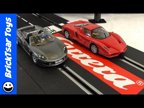 Carrera Evolution Slot Cars Hot Wheels Dream Racers + Neon Lightning McQueen Disney Pixar Cars