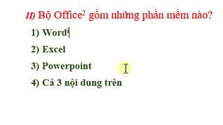 Tự học Word - 39/50 Chú thích cuối trang, cuối tài liệu (Footnote, endnote)