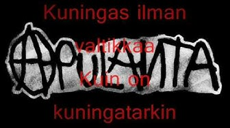Apulanta - Pahempi Toistaan (lyrics)