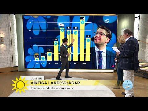 SD laddar inför valet 2018 - Nyhetsmorgon (TV4)