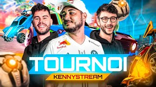 TOURNOI ROCKET LEAGUE KENYSTREAM ! (ft. Moman - Chap - Lebouseuh - Zerator - Ponce - Kameto)