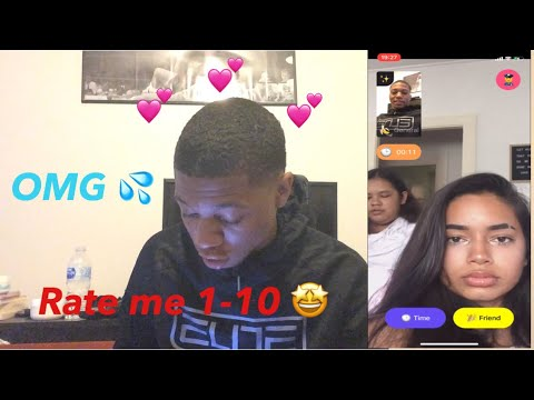 TELLING RANDOM GIRLS TO RATE ME 1-10 ON THE MONKEY APP 💕🔥🤗 ** VERY FUNNY **