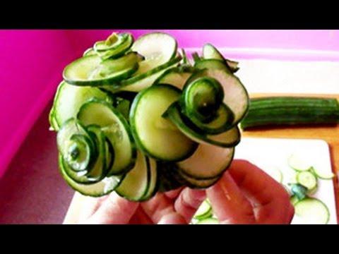 Украси със зеленчуци