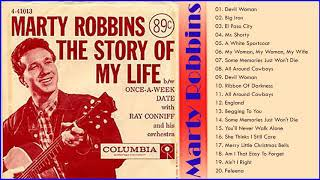 Marty Robbins Best Songs of Full Album - Marty Robbins Greatest Hits 2020