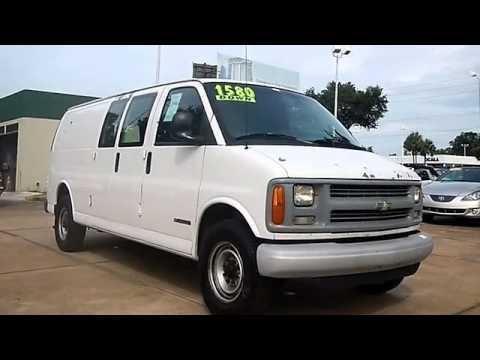 2000 chevrolet express cargo van prestige auto sales ocala fl 34471 youtube. Black Bedroom Furniture Sets. Home Design Ideas