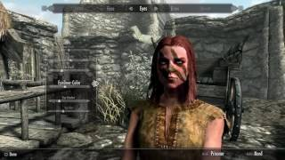 How To Create Aela The Huntress - Skyrim Special Edition