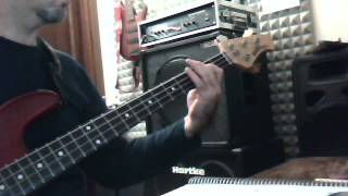Patti Smith - because the night (BASS COVER)