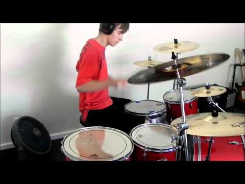 The Amity Affliction - HMAS Lookback Drum cover