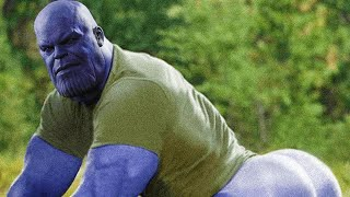 When you finally get to play as Thanos in Fortnite