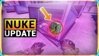 10 TRICKS AFTER NEW DE_NUKE CS:GO UPDATE