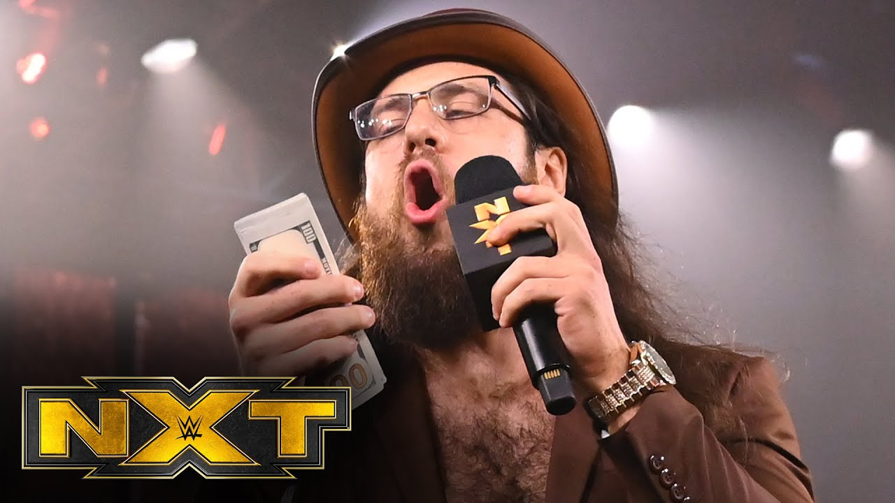 How Much Money Cameron Grimes Threw In The Ring On NXT?