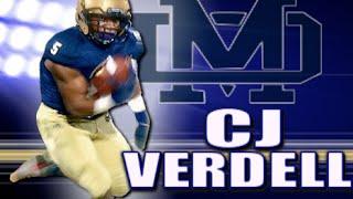 CJ Verdell '17 : Mater Dei ( Chula Vista, CA) Junior Year Highlights
