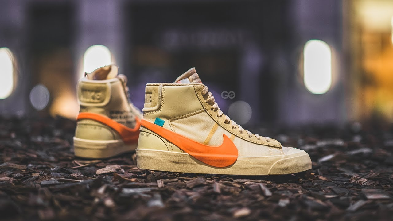 Off White X Nike Blazer Mid All Hallows Eve Review On Feet