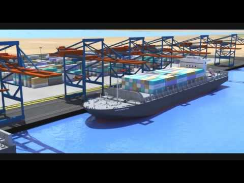 SciTech Season 4 - Container Terminal Salalah - Future Ship Building