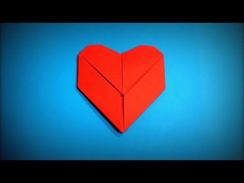 How to Make a Paper Heart Card DIY - Easy Origami Step by Step