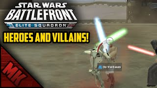 HEROES AND VILLAINS! - (Battlefront Elite Squadron Gameplay)