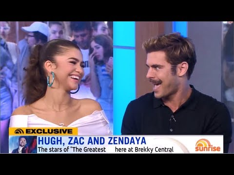Zac Talking Dreamily About Zendaya For 3 Minutes Straight