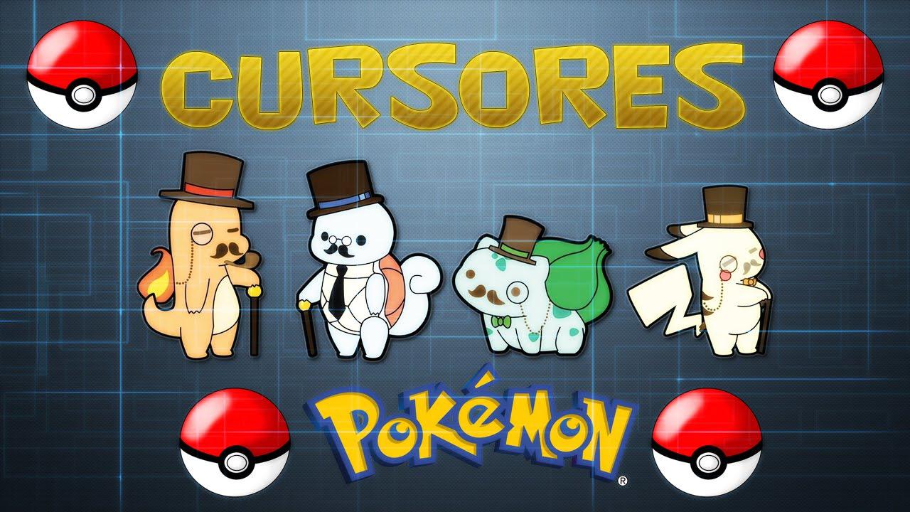 cursores de pokemon