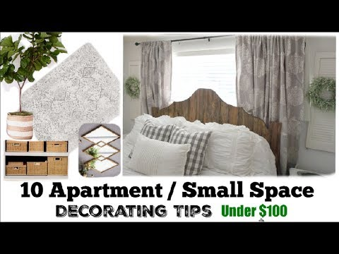 HOW TO DECORATE APARTMENT ON A BUDGET | SMALL SPACE IDEAS | Momma From Scratch