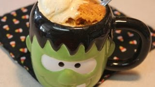 Pumpkin Mug Cake With Cookingandcrafting