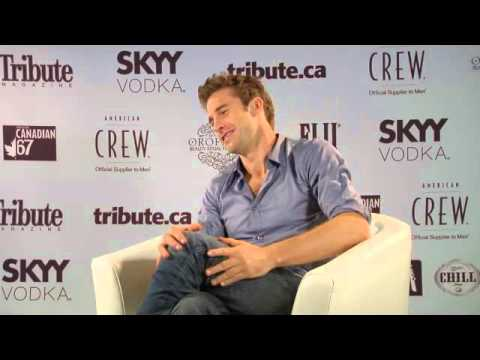 Scott Speedman Interview -- Edwin Boyd   2011 TIFF   Toronto International Film Festival