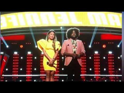 """Davon Fleming, Maharasyi """"The Voice"""" Battle Video – Watch """"I'm Your Baby Tonight"""" Performance"""