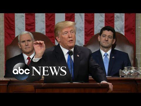 President Trump boasts rising wages, massive tax cuts