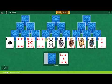 Microsoft Solitaire Collection - Tripeaks - September 12 2017