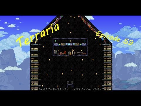 Lets Play Terraria Episode 59: The Unemployment line.