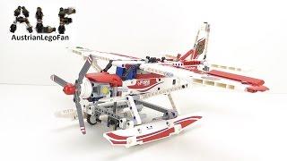 Lego Technic 42040 Fire Plane / Löschflugzeug - Lego Speed Build Review