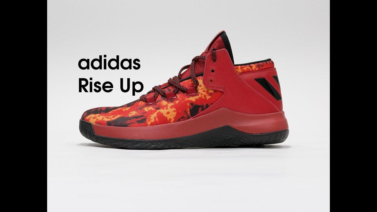 como escoger realmente cómodo nuevo diseño adidas Rise Up Basketball Shoe [DilokStore] - YouTube