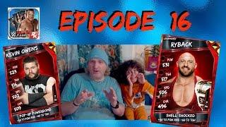 WWE SuperCard Season 2 Episode 16 - Ryback v Kevin Owens PCC