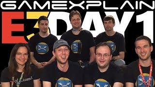E3 Day 1 Wrap-Up:  Direct Impressions + Hands-On w/ LM3, Pokémon, FF7, Link's Awakening, \u0026 More!