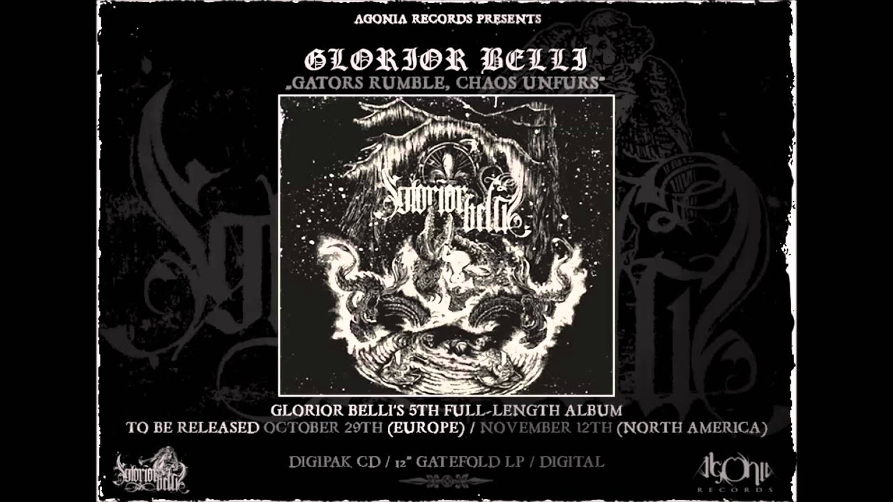GLORIOR BELLI - I Asked For Wine, He Gave Me Blood (Official Track Stream)