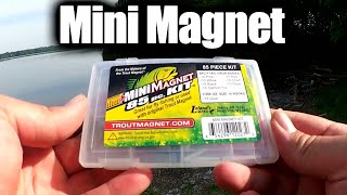 Float Fishing with a Mini Trout Magnet & 1/200th oz Jig Head!