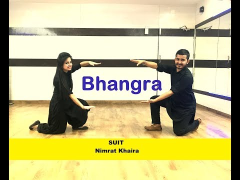 SUIT [ Nimrat Khaira】Easy BHANGRA Choreography || WEDDING PERFORMANCE