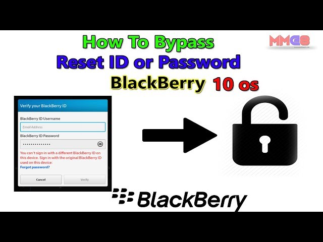 how to bypass blackberry id sign in screen