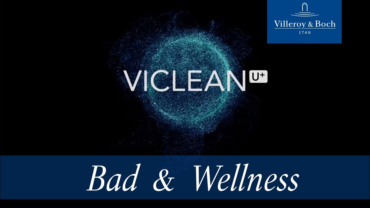 Viclean U Combination Of Wc And Bidet Villeroy Boch Youtube