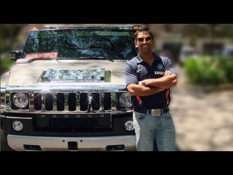 dhoni car collection youtube. Black Bedroom Furniture Sets. Home Design Ideas