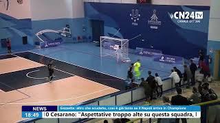Calcio a 5: Futsal Fuorigrotta - Roma