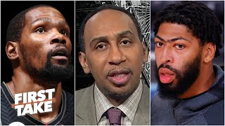 Stephen A. reacts to Anthony Davis' injury: The <b>Nets</b> can win the ...