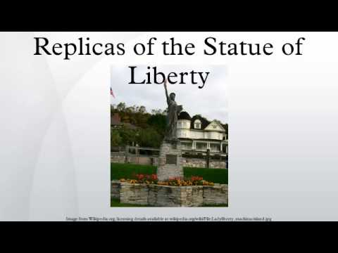 Replicas of the Statue of Liberty