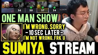 SUMIYA the TOXIC Invoker One Man Show | Sumiya Facecam Stream Moment #515